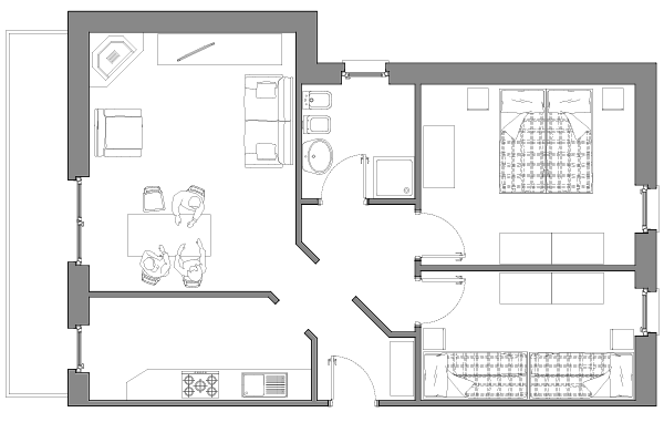 Appartamento Barbara